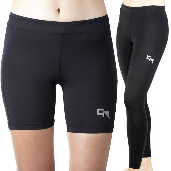 Cheeta Recovery Womens Compression Shorts & Tights Bundle